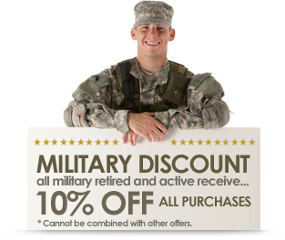 Military Discount 10 Percent, Savannah, Hilton Head Fireworks